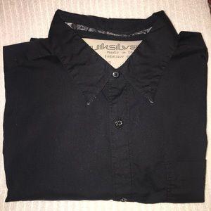 Quicksilver long sleeve button down